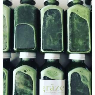 GMF- Graze Grass 12oz Cold Pressed Juice